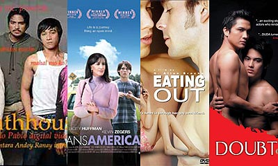 Bathhouse, TransAmerica, Eating Out, Doubt/Duda