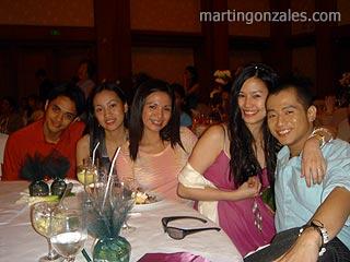 L-R: Khel, Cielle, Yssah, Jane, Me