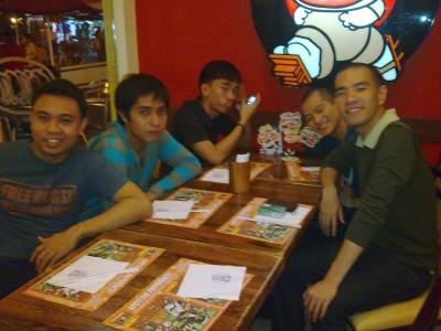 Teriyaki Boy: Karlos, Rhoger, DJ, Martin, Franciz