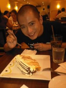 Conti's Mango Bravo Cake