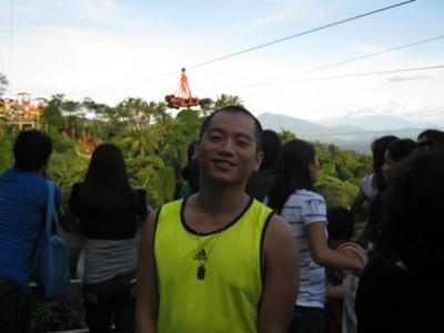 Me @ Tagaytay Zipline