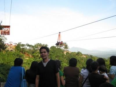 Pooh @ Tagaytay Zipline